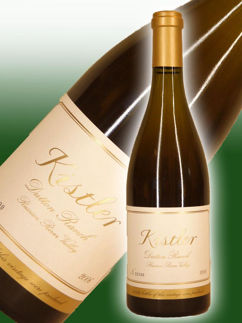 キスラー・ヴィンヤーズ シャルドネ・ダットン・ランチ[2006]【750ml】Kistler Vineyards Chardonnay Dutton Ranch