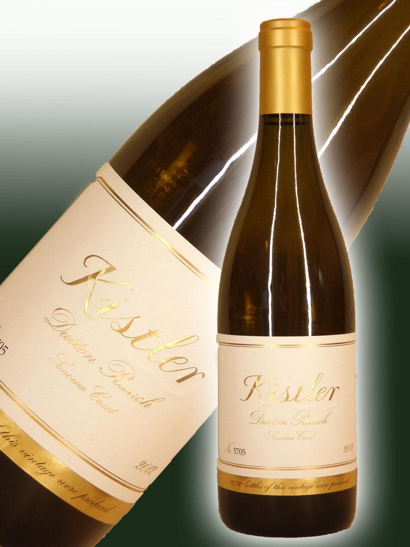 キスラー・ヴィンヤーズ シャルドネ・ダットン・ランチ[2012]【750ml】Kistler Vineyards Chardonnay Dutton Ranch