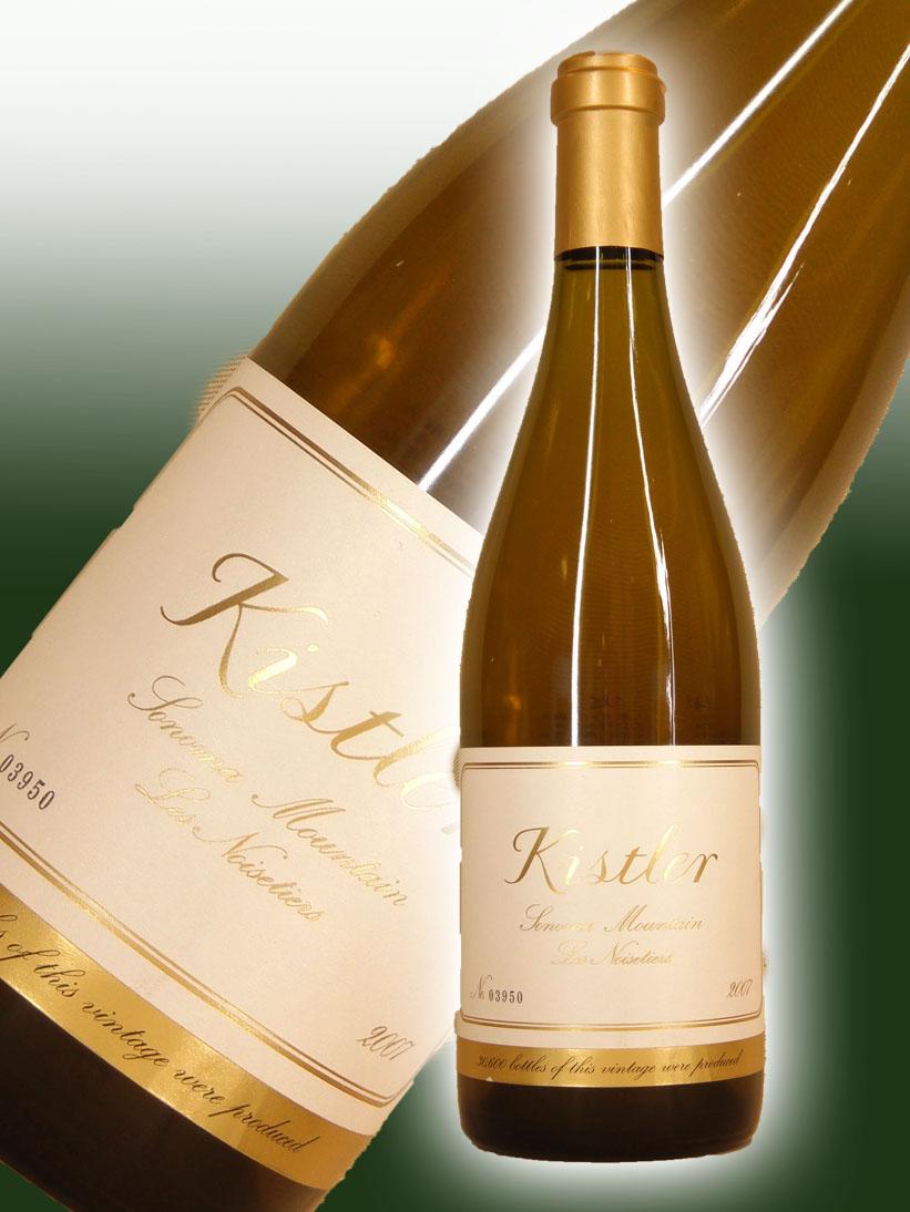 キスラー・ヴィンヤーズ シャルドネ レ・ノワゼッティエール[2007]【750ml】Kistler Vineyards Chardonnay Les Noisetiers