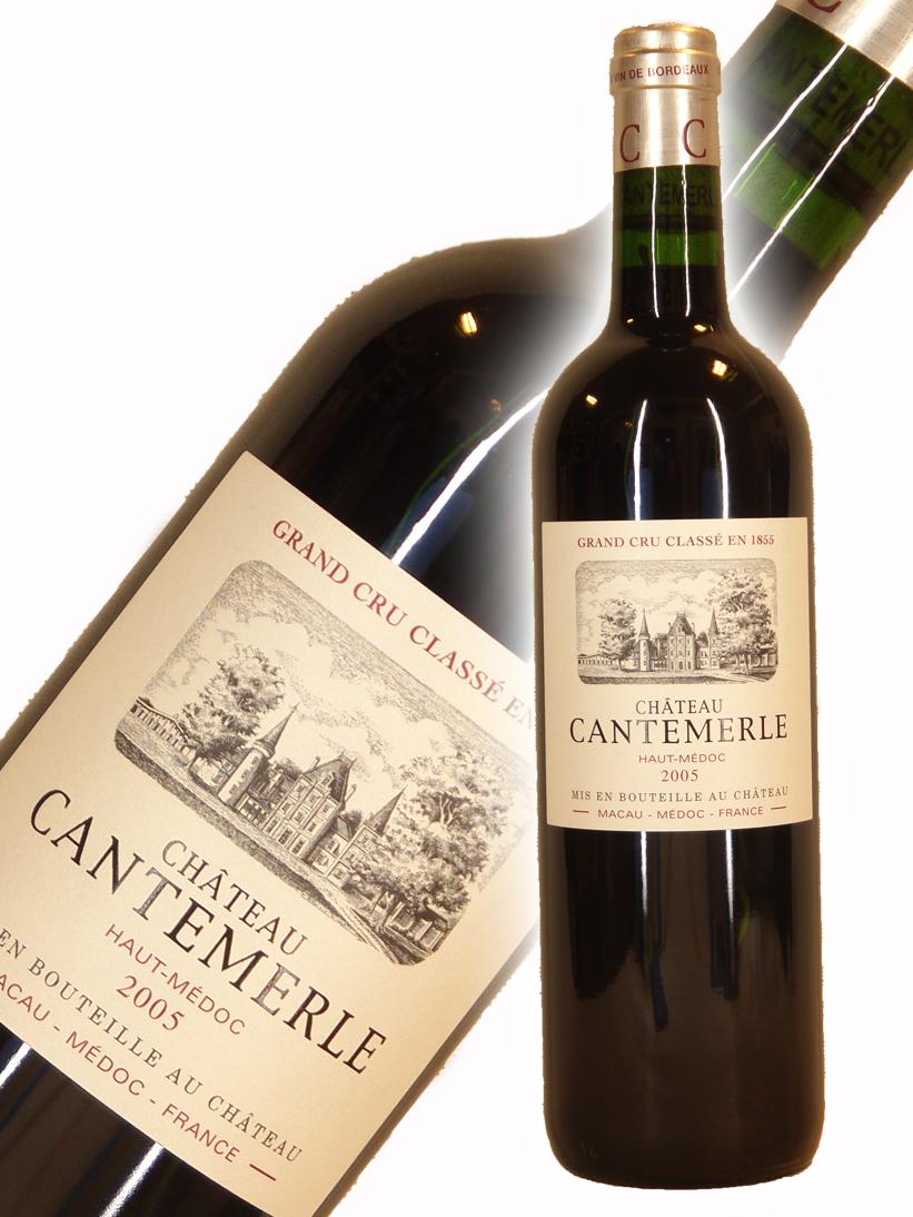 シャトー・カントメルル [2005]【750ml】Chateau Cantemerle
