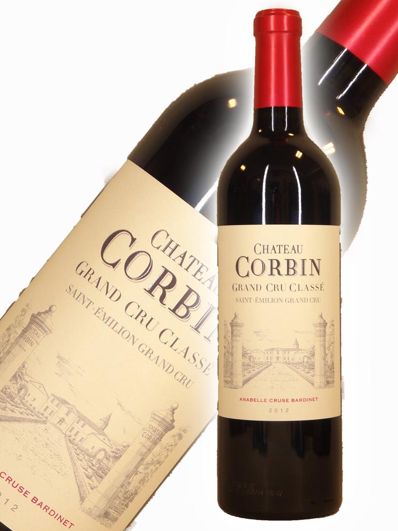 シャトー・コルバン[2012]【750ml】Chateau Corbin