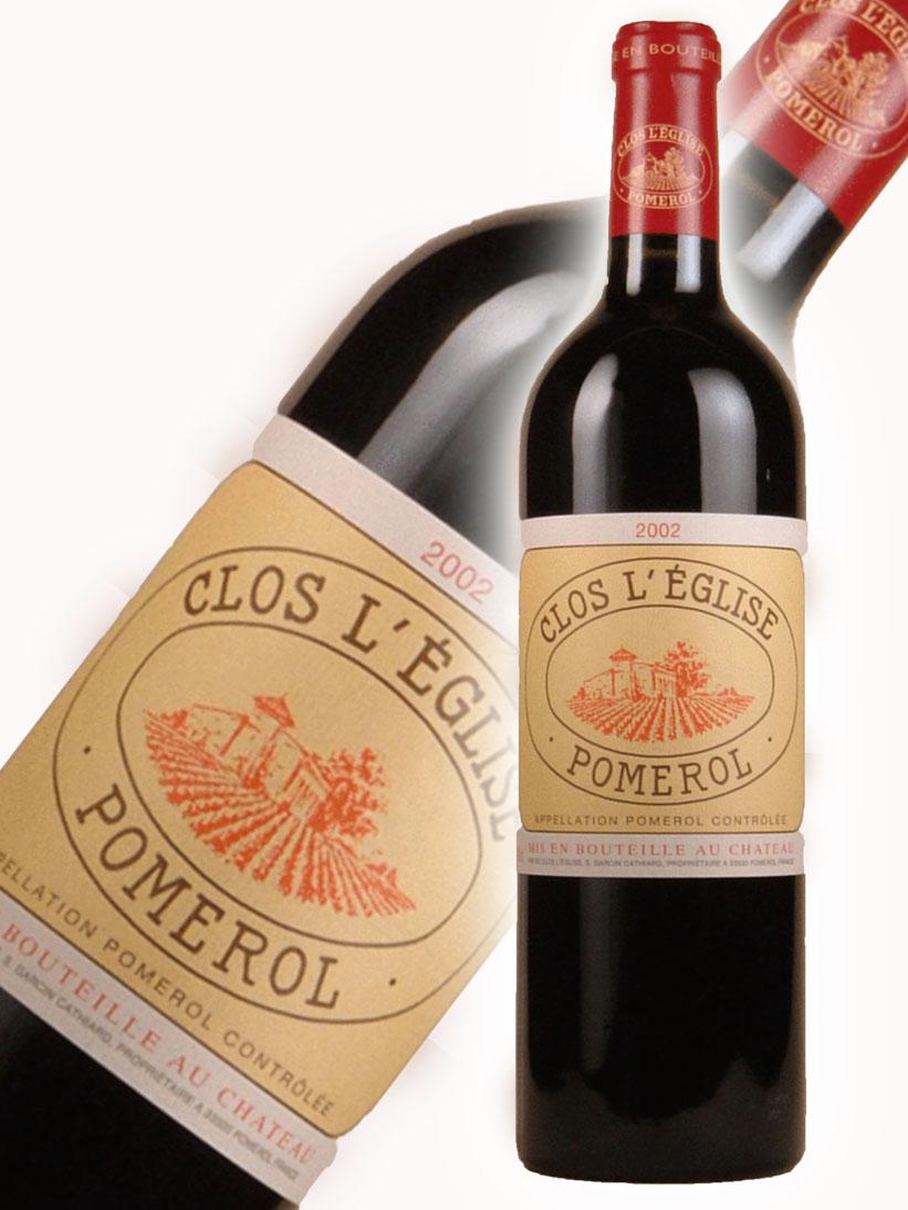シャトー・クロ・レグリース[2002]【750ml】 Chateau Clos L'Eglise