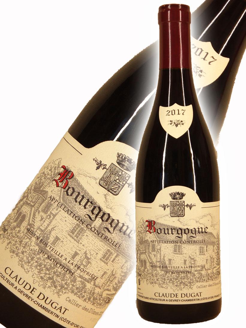 激安格安割引情報満載 クロード デュガ ブルゴーニュ ルージュ 2017 Rouge Claude 750ml Dugat Bourgogne 買取