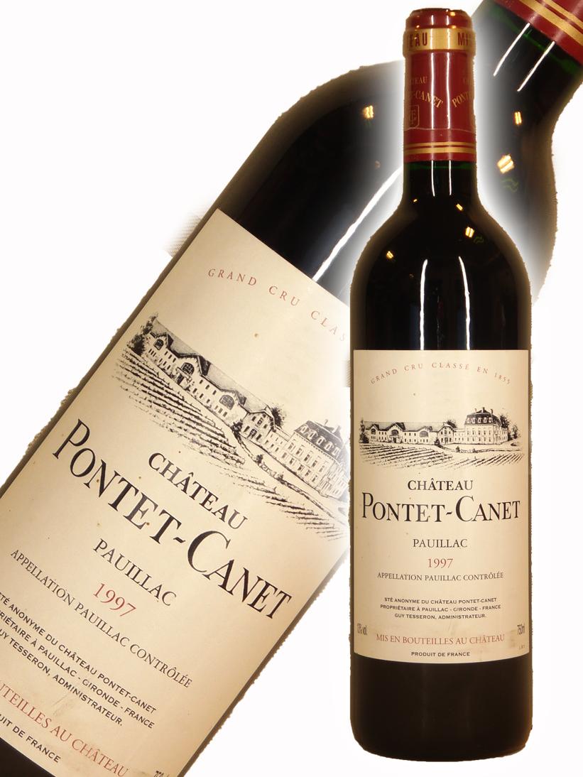 シャトー・ポンテ・カネ[1997]【750ml】Chateau Pontet Canet