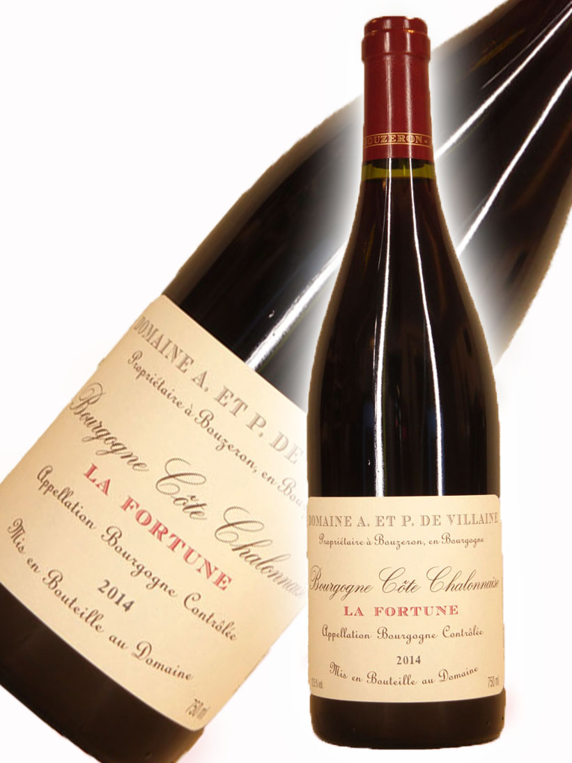 ドメーヌ・A・P・ヴィレーヌ ブルゴーニュ コート・シャロネーズ ラ・フォルチューヌ[2014]【750ml】Domaine A.Et P.De Villaine Bourgogne Cote Chalonnaise La Fortune