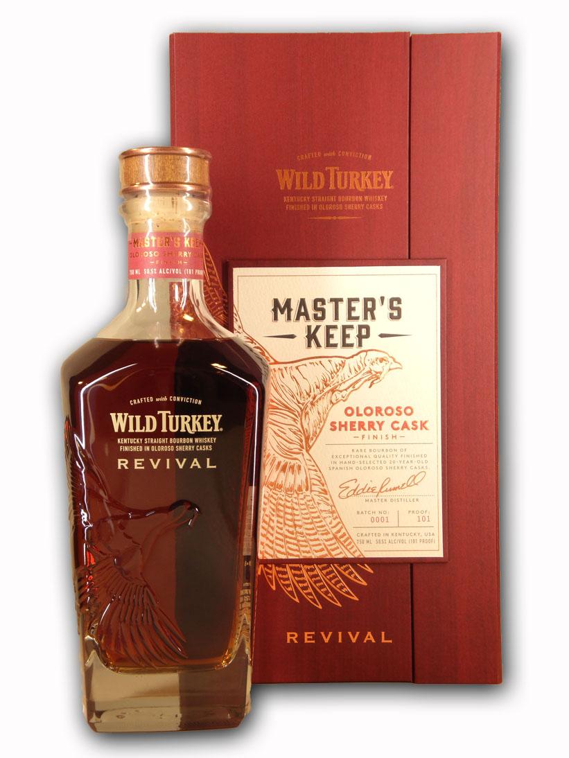 化粧箱入り ワイルドターキー マスターズキープ リバイバル 750ml 1着でも送料無料 Turkey 完売 Revival Keep Wild Master's