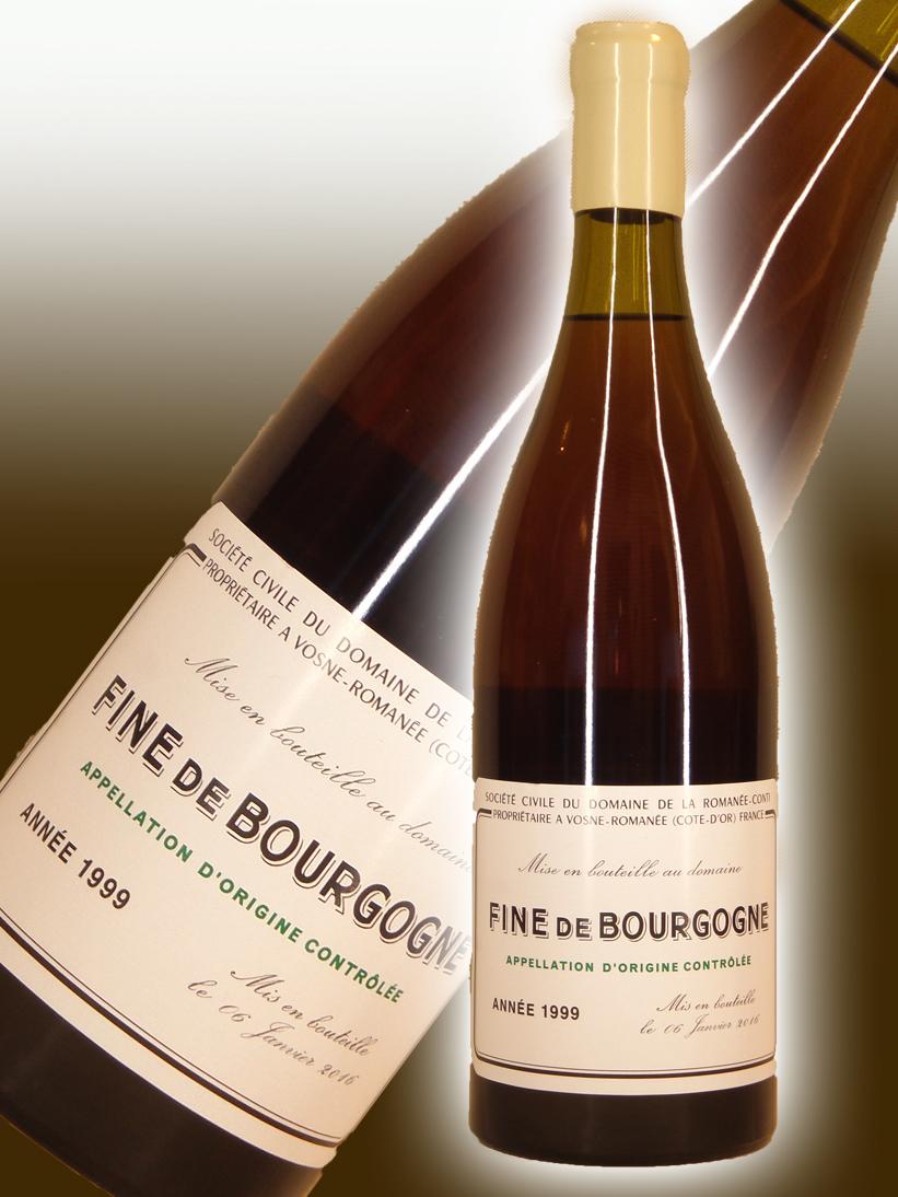 ドメーヌ・ド・ラ・ロマネ・コンティ DRC フィーヌ・ド・ブルゴーニュ[1999]【700ml】Domaine de la Romanee Conti Fine de Bourgogne