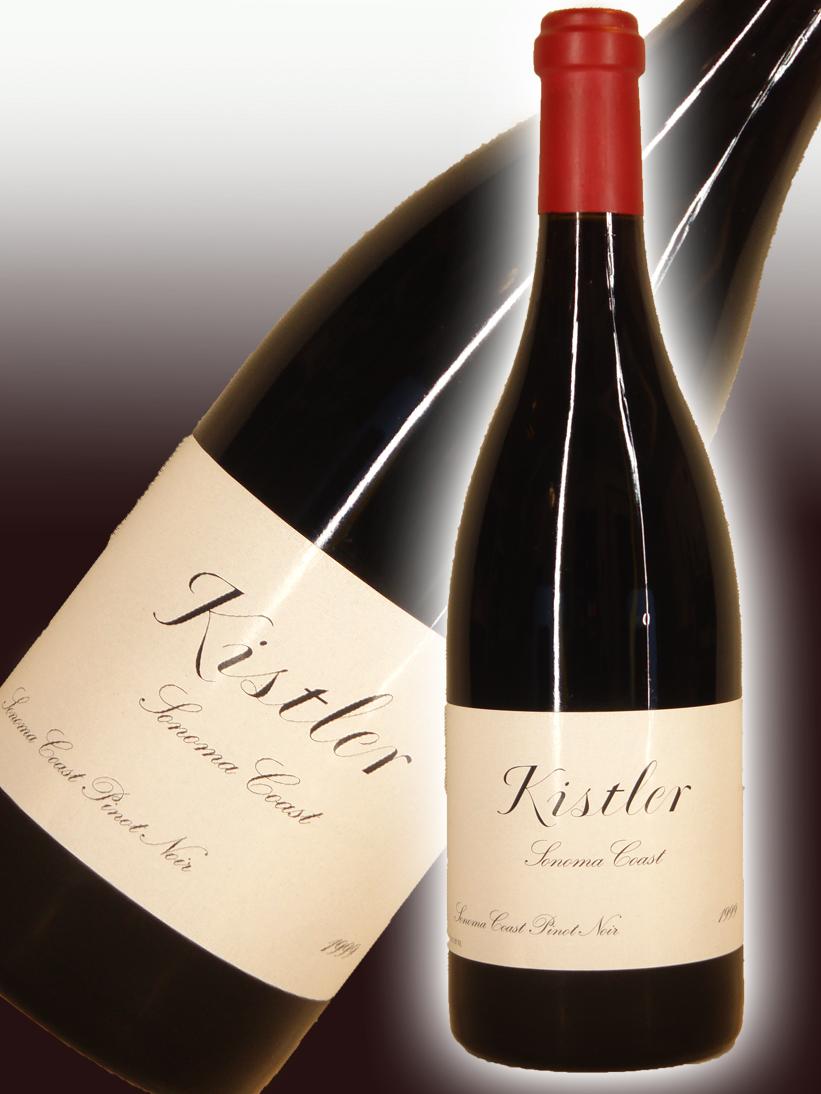キスラー・ヴィンヤーズ ピノ・ノワール・ソノマ・コースト[1999]【750ml】Kistler Vineyards Pinot Noir Sonoma Coast