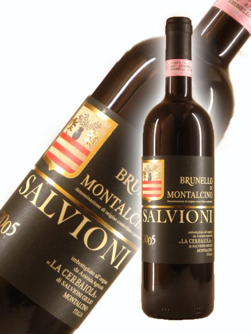ラ・チェルバイオーラ サルヴィオーニ ブルネッロ・ディ・モンタルチーノ[2005]【750ml】La Cerbaiola Salvioni Brunello di Montalcino