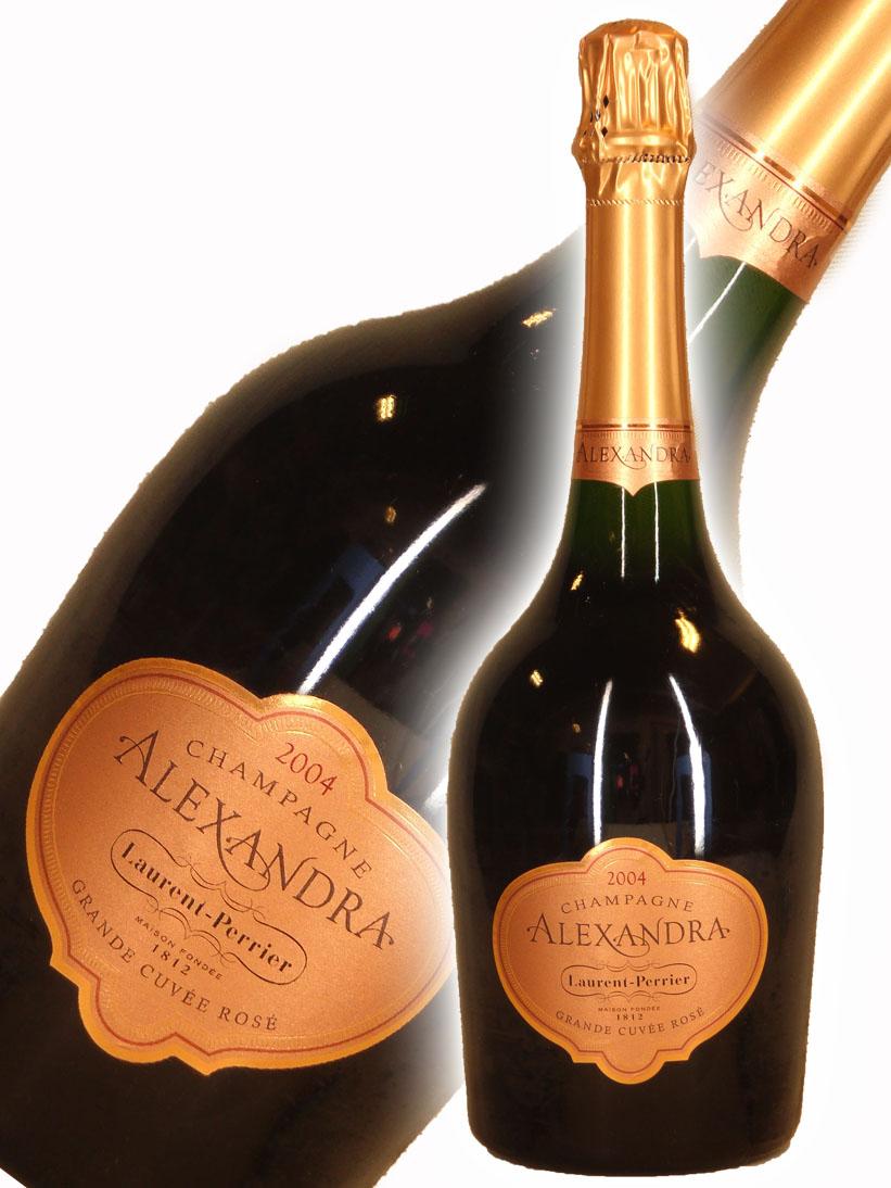 ローラン・ペリエ アレクサンドラ ロゼ[2004]【750ml】Laurent Perrier Alexandra Grande Cuvee Rose