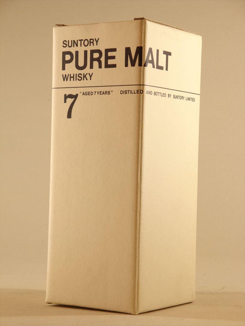Suntory pure malt white seven years Suntory Pure Malt