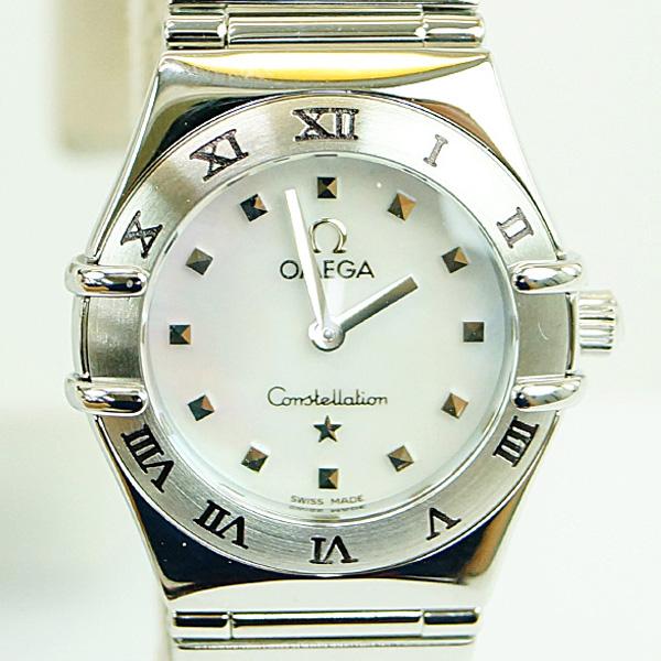 OMEGA オメガ コンステレーション ミニ 15617100 レディース 腕時計 クオーツ Aランク【中古】