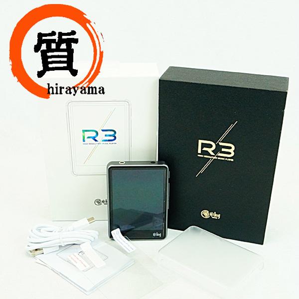 HIBY ハイビー R3 デジタルオーディオプレイヤー グレー Bluetooth Aランク【中古】