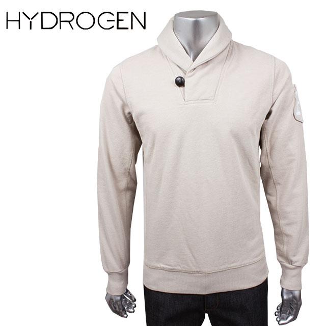 HYDROGEN ハイドロゲン メンズ トレーナー 110009 FELPA SCIALLE PIQUET CLASSIC