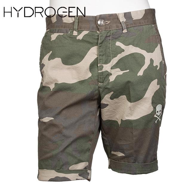 HYDROGEN ハイドロゲン メンズ ハーフパンツ 140511 MIMETICO BEIGE カモフラージュ