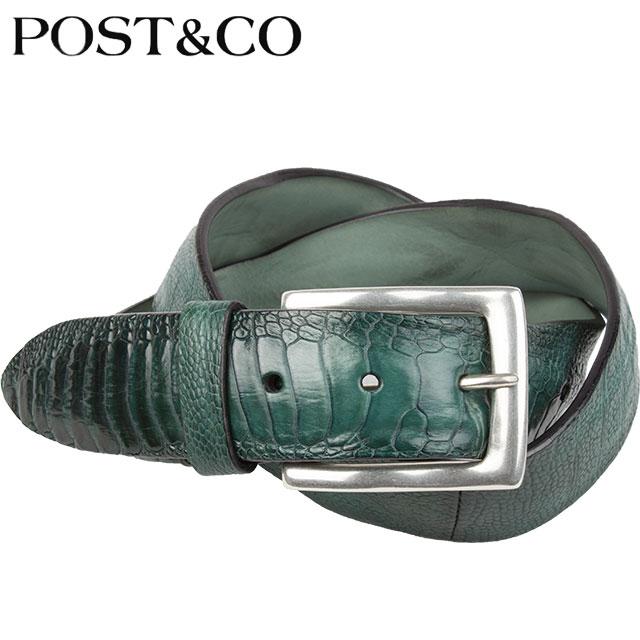 POST&CO ポストアンドコー ベルト IL174174 I PETROL