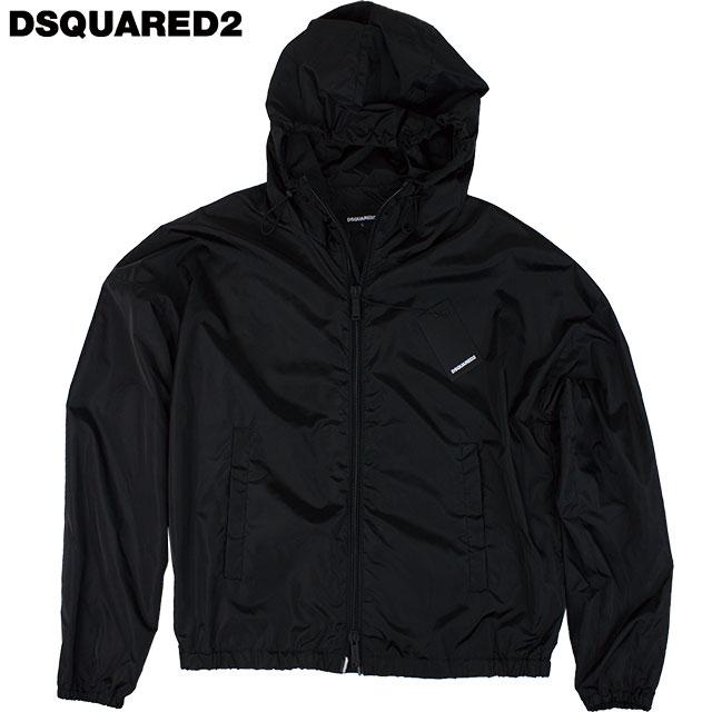 DSQUARED2 ディースクエアード メンズ ナイロンジャケット S79AM0004 S52132 900 ブラック