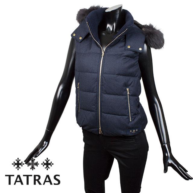 TATRAS タトラス レディース ダウンベスト LUSERA LTA18A4572 NAVY ネイビー