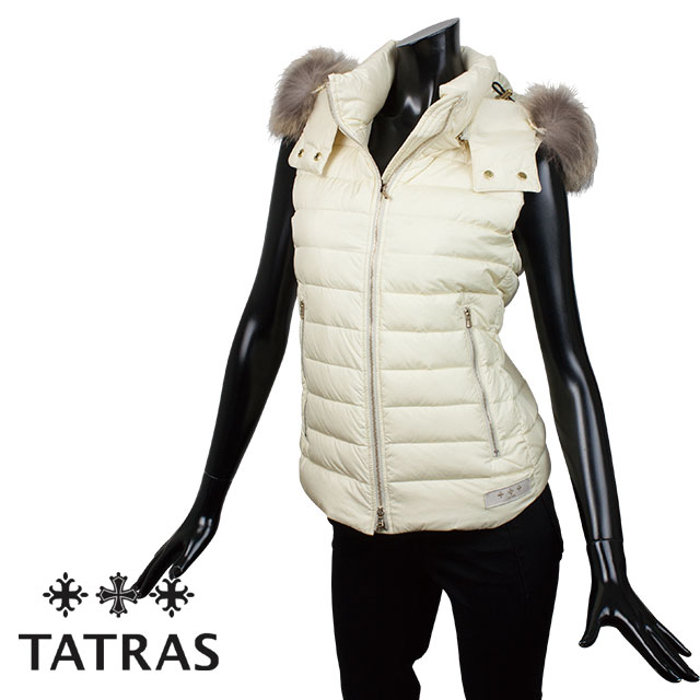 TATRAS タトラス レディース ダウンベスト ORSIERA オルシェラ LTA18A4573 CREAM クリーム