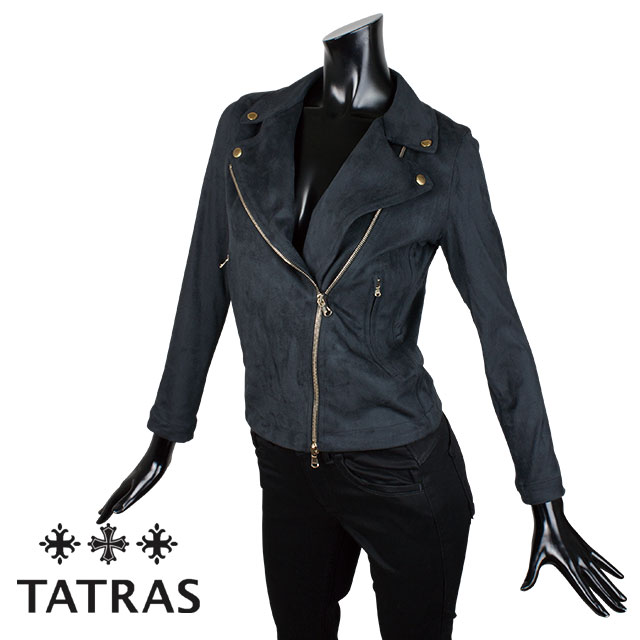 TATRAS タトラス レディース ライダース ジャケット AGRIMONIA LTA18A4649 BLACK ブラック