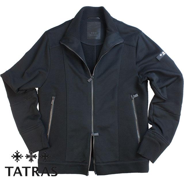 TATRAS タトラス メンズ VARESE ジャージーブルゾン MTA18S8036 BLACK ブラック