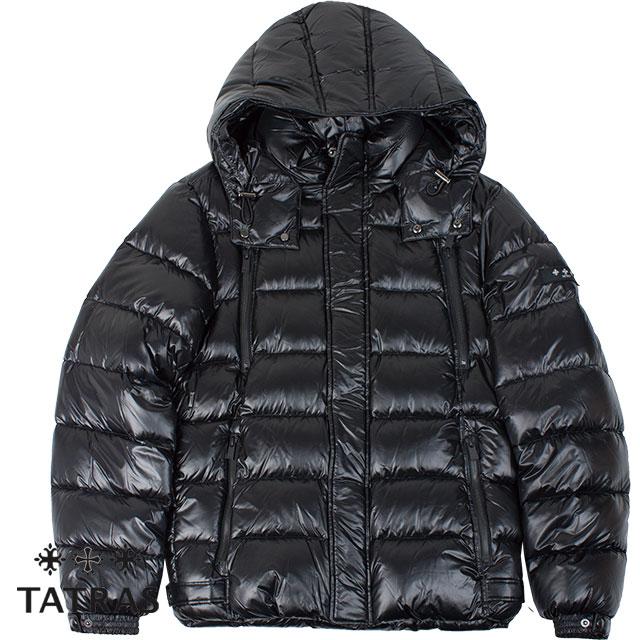 TATRAS タトラス メンズ ダウンジャケット DIOMEDE ディオメデ MTA20A4563 BLACK ブラック【セール商品のため返品交換不可】