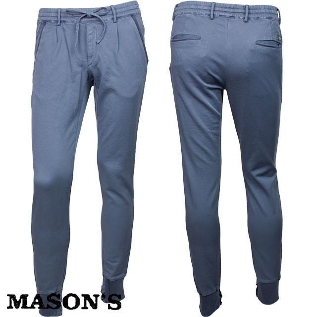 MASON`S メイソンズ メンズ スウェットパンツ 4MM8002 0032 ブルー