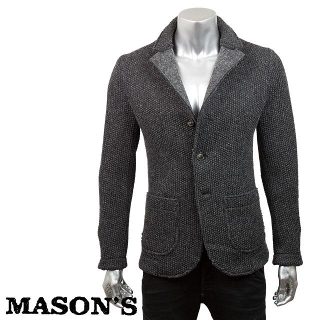 MASON`S メイソンズ メンズ ジャケット 4MM1421 0215 ダークグレー