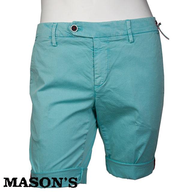 MASON`S メイソンズ メンズ ハーフパンツ 4MM6751 P 176 アクアブルー【セール商品のため返品交換不可】