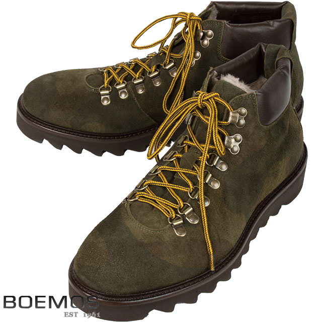 BOEMOS ボエモス メンズ ブーツ I5-4394DSL CROSTA CAMOUFLAGE VERDE