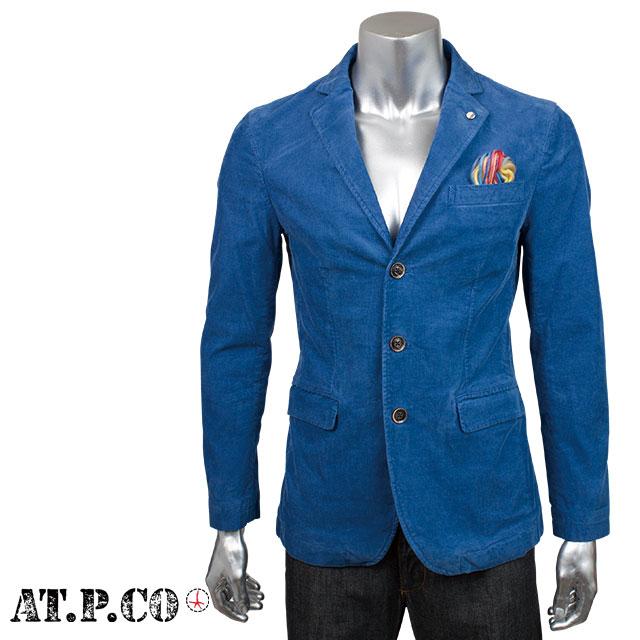 AT.P.CO アティピコ メンズ ジャケット 4AP7807 0760 ブルー