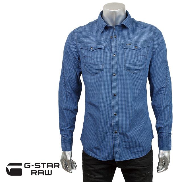 G-STAR RAW ジースター ロゥ メンズ シャツ ARC 3D SHIRT 83602e 6575 843 THERMEN テルメ