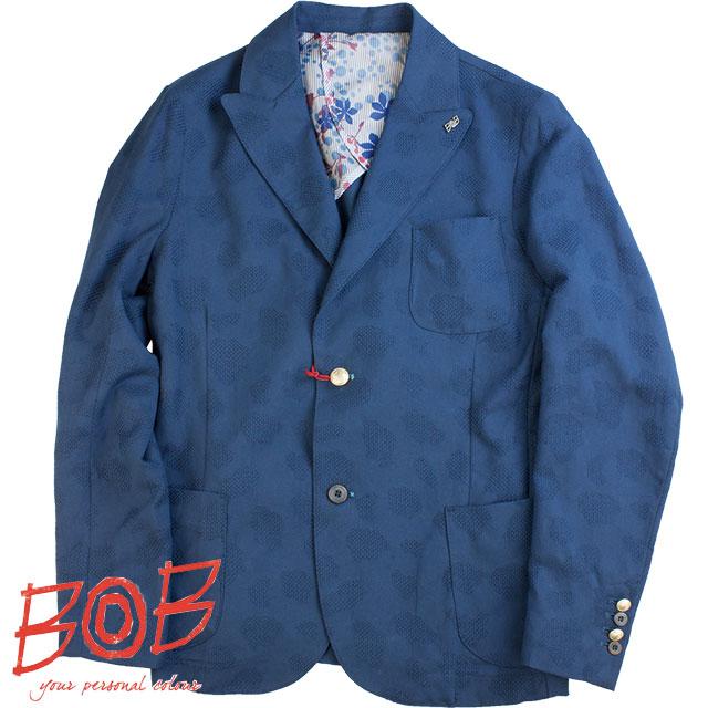 BOB ボブ メンズ ジャケット 031851048 85 ブルー