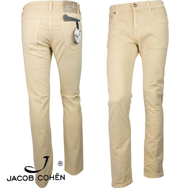 JACOB COHEN ヤコブ コーエン メンズ パンツ 226 82265 30 ベージュ【セール商品のため返品交換不可】