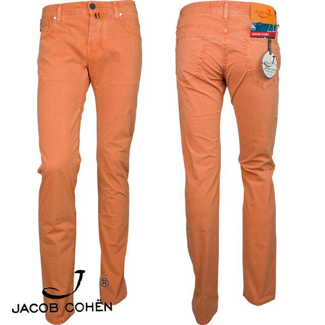 JACOB COHEN ヤコブ コーエン メンズ パンツ 226 12218 PW622 COMF 24 251 Albicocca オレンジ
