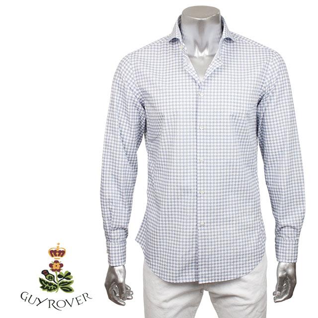 GUY ROVER ギローバー メンズ シャツ 571192 01 ホワイト