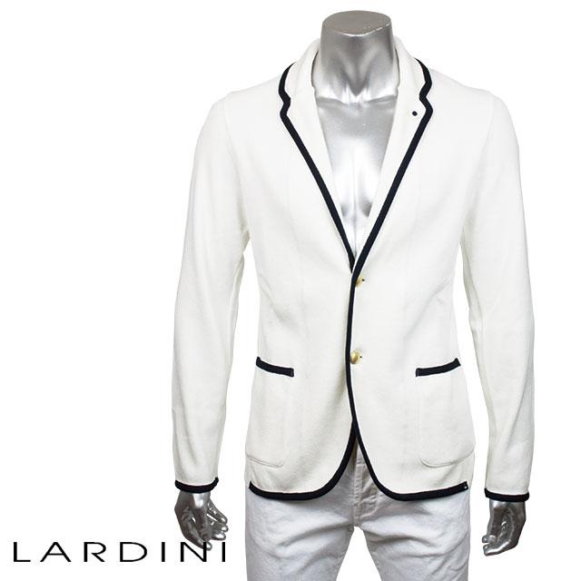 LARDINI ラルディーニ メンズ ジャケット LJM29 EC48017 100 ホワイト【セール商品のため返品交換不可】