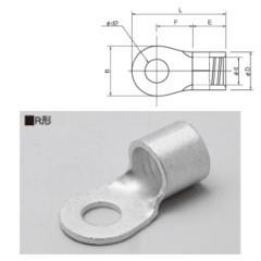 ニチフ R38-8S 実物 銅線用裸圧着端子 R形 丸形 購買