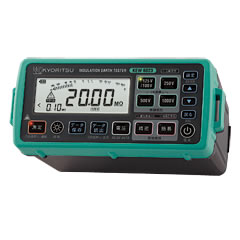 KYORITSU 共立電気計器株式会社 KEW6022L(L型プローブモデル) デジタル絶縁・接地抵抗計