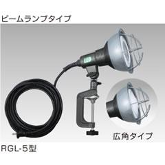 ハタヤリミテッド RGL-10 20W LED作業灯(屋外用・昼白色・ビームランプタイプ)