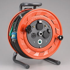 HATAYA AP-501K AP型コードリール(50m・接地付・温度センサー付)