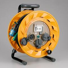 HATAYA BR-301KX BR型コードリール(30m・漏電遮断器付き・接地付)