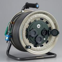 HATAYA GX-501K サンタイガーレインボーリール【屋外用】(50m・接地付・温度センサー付)