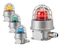 PATLITE 防爆型回転灯 RES-100A-R(赤) AC100~110V 0.1A