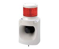 PATLITE LED積層信号灯付き MP3音声合成報知器 LKEH-102FV DC24V 1段