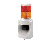 PATLITE LED積層信号灯付き MP3音声合成報知器 LKEH-202FV DC24V 2段
