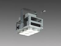 【Mitsubishi/三菱電機】 LED高天井ベースライト GTシリーズ 産業用 クラス2000 EL-C20034N 2AHTN 屋内仕様 高温用 電源一体型