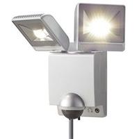 オプテックス LEDセンサライト LA-22LED(S) シルバー