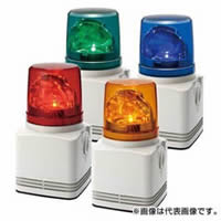 PATLITE LED回転灯付電子音報知器 RFT-100 Aタイプ AC100V 13W