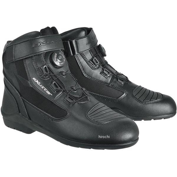 【メーカー在庫あり】 E-SBT271W エグザスター EXUSTAR ツーリングブーツ 黒 #45 28.0cm 4712947523844 HD店